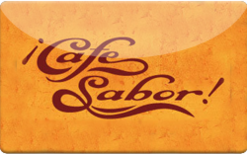 Sell Cafe Sabor Gift Card
