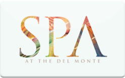 Sell Spa at Del Monte Gift Card