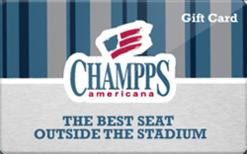 Sell Champps Americana Gift Card