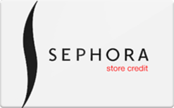 Just ask a Sephora associate to place an order for you in-store and use your store credit to pay for it. Sales associates can place an order for a product and get it shipped to the store for free if they don't have that product in-store.