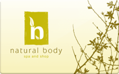 Buy Natural Body Gift Card