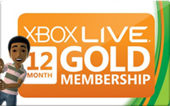 Sell Xbox 360 Live Membership Card Gift Card