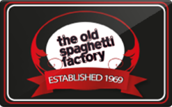 Sell The Old Spaghetti Factory Gift Card