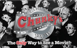 Buy Chunky's Cinema Gift Card