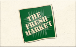 Buy The Fresh Market Gift Card