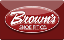 Sell Brown's Shoe Fit Co. Gift Card