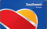 Southwest airlines gift card taxon