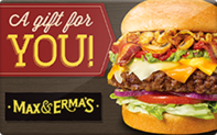 Buy Max & Erma's Gift Card