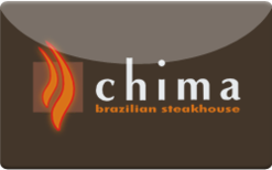 Sell Chima Brazilian Steakhouse Gift Card