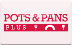 Buy PotsAndPansPlus.com Gift Card