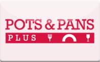 Buy Pots & Pans Plus Gift Card