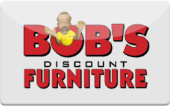 Sell Bob's Discount Furniture Gift Card