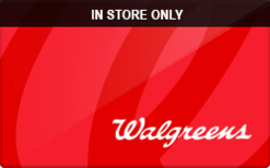 Buy Walgreens (In Store Only) Gift Card