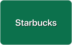 Buy Starbucks Coffee Gift Card