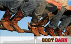 Sell Boot Barn Gift Card