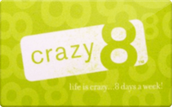 Sell Crazy 8 Gift Card