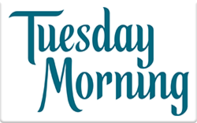 Buy Tuesday Morning Gift Card