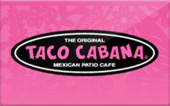 Sell Taco Cabana Gift Card
