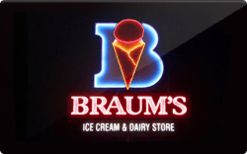 Sell Braum's Gift Card