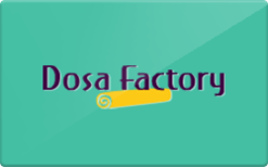 Buy Dosa Factory Gift Card