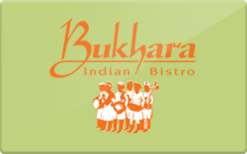 Sell Bukhara Indian Bistro Gift Card