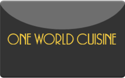 Sell One World Cuisine Gift Card