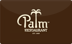 Sell The Palm Restaurant - Promotion Gift Card