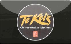 Sell Te Kei's Gift Card