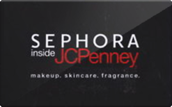 Sell Sephora Inside JCPenney Gift Card
