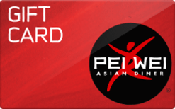 Pei-Wei Asian Diner Gift Card - Check Your Balance Online | Raise.com
