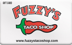 Sell Fuzzy's Taco Shop Gift Card