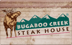 Buy Bugaboo Creek Steakhouse Gift Card