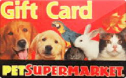 Sell Pet Supermarket Gift Card