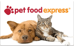 Sell Pet Food Express Gift Card