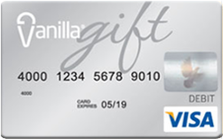 Buy Vanilla Gift Card