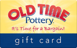 Sell Old Time Pottery Gift Card