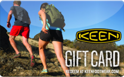 Buy Keen Shoes Gift Card