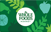 Buy Whole Foods Gift Card