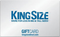 Sell King Size Direct Gift Card