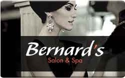 Sell Bernard's Salon and Spa Gift Card