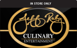 Sell Jeff Ruby Culinary Entertainment (Physical) Gift Card