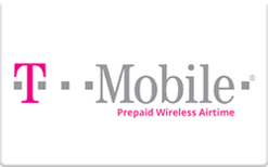 Sell T-Mobile Prepaid (Pre-Paid Phone Plans Only) Gift Card