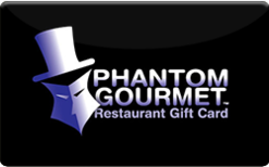 Sell Phantom Gourmet Restaurants Gift Card