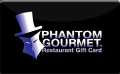 Buy Phantom Gourmet Restaurants Gift Card