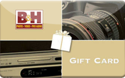 Sell B&H Photo Gift Card