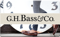Sell Bass Shoes Gift Card