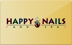 Sell Happy Nails Gift Card