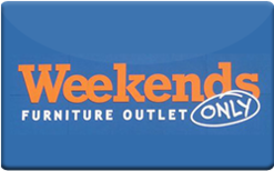 Buy Weekends Only Furniture Gift Card