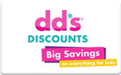 Buy DD's Discounts Gift Card