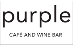 Sell Purple Cafe & Wine Bar Gift Card